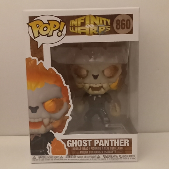 Ghost Panther Funko Pop